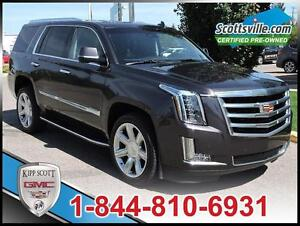 2016 Cadillac Escalade Luxury Col, Leather Sunroof, Nav, 1 Owner