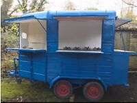 Horse trailer conversion catering unit for sale