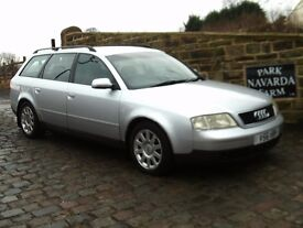 Audi 1.8 T SE Estate Automatic In Silver, 1999 V reg, 14 Service History Stamps, MOT 23rd August2017
