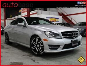 2014 Mercedes-Benz C-Class C350 4MATIC COUPE SPORT AMG !