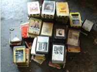 8 track tapes lots and lots 20.00 07985733189