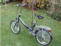 RALEIGH EVO FOLDING BIKE GREAT CONDITION 07985733189