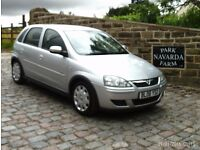 Vauxhall Corsa Design Twinport In Silver. 2006 06 reg With Service History