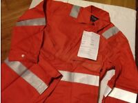 Boilersuits - Coveralls - With & Without Reflective Tape. All New. FR. Lots of sizes & colours