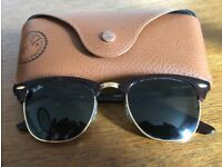 Ray-Ban Clubmaster RB3016 Sunglasses - unworn
