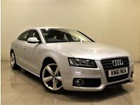 AUDI A5 2.0 SPORTBACK TDI S LINE 5d AUTO 141 BHP + ONLY 1 PREVIOUS OWNER (silver) 2011