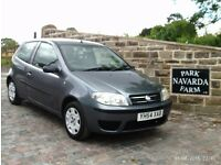 Fiat Punto Active In Grey. 2004 54 reg With Service History