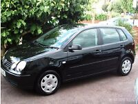 1 OWNER 1.2 VW POLO 2003 4 DOOR WITH A FULL SERVICE HISTORY DRIVES LIKE NEW WELL LOOKED AFTER