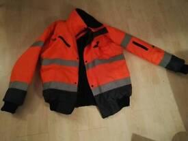 Portwest hi viz jacket