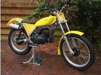 """Classic"" 1979 Suzuki Beamish RL250 Twinshock Trials"