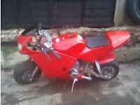2x midi motos not mini or pit bike
