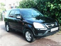LOW MILLAGE HONDA CRV EXECUTIVE WITH MAIN DEALER SERVICE HISTORY 1 PREVIOUS OWNER