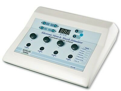 New Electrotherapy Physical 4 Channel N. M. S 498 Therapy Machine Relief Unit