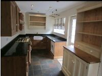 Real wood kitchen