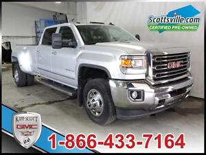2015 GMC Sierra 3500HD SLT, Dually, Leather, 5th Wheel Ready