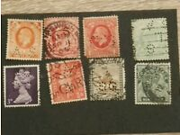STAMPS ALL DIFFERENT PERFIN PRE WAR MOSTLY USED