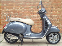 15 Reg Vespa GTS 300 ABS, Showroom condition
