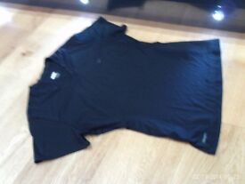 NIKE fitdry TRAINING TOP SIZE LARGE , BLACK