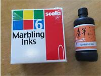 Marbling Ink Scola Chinese Ink