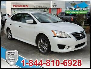 2014 Nissan Sentra SR Premium Pkg, Heated Cloth, Nav, Sunroof