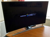 """48"""" SAMSUNG UE48JS8500 - SUHD -Nano Crystal- 3D Curved LED TV -1900hz- Freeview/Sat HD"""