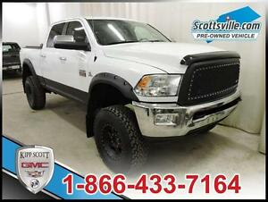2011 Dodge Ram 3500 Laramie, Leather, Sunroof, Lifted