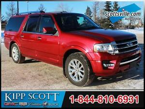2015 Ford Expedition Max Limited, Leather, Sunroof, Nav, Clean