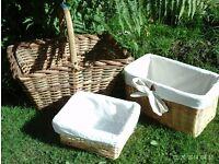 3 storage baskets