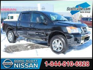 2012 Nissan Titan SV 4x4, 5-Speed Automatic, A/C, Cruise, Cloth