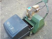 Fully Serviced Webb Petrol Self-Propelled Roller Stripes Lawnmower