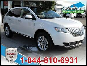 2013 Lincoln MKX Premium, Leather, Nav, Tow, Sunroof, THX Audio