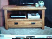 Oak Furniture Land Solid oak TV unit / Stand