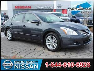 2011 Nissan Altima 3.5SR, V6 CVT, Leather, Bluetooth, XM