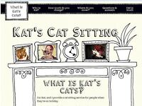 Kat's Cat Sitting - looking after your cats and kittens in their own home when you're away
