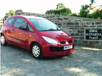 Mitsubishi Colt CZi In Red. 2006 56 reg With Service History