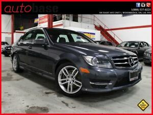 2014 Mercedes-Benz C-Class C300 4MATIC NAVI|PANORAMIC|BLINDSPOT|