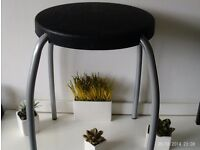 NEW retro style stool / side table 45 cm tall