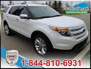 2014 Ford Explorer Limited 4WD, Leather, Nav, Sunroof, Towing