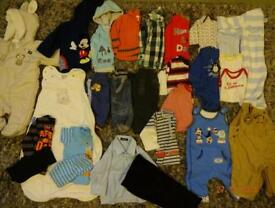 Lovely bundle for baby boy 3-6