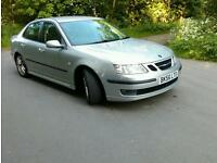 "Saab 9-3 1.9tid 150hp half lether aircon 17""alloy New Winter tyres"