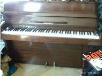 LOVELY MAHOGANY PIANO ON THE SMALLER SIDE