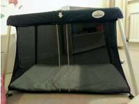 Superlight travel cot - as new, still with box!
