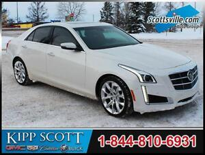 2014 Cadillac CTS Premium AWD, Leather, Sunroof, Nav, Low KM