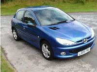 2lt Hdi Sport Peugeot 206 With 3m Parts & Labour Warranty Given