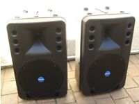MACKIE (RCF) ART300A Active Powered Speakers, 300 watts - VERY GOOD CONDITION