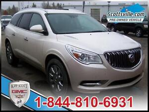 2014 Buick Enclave Premium AWD, Leather, Nav, New Tires, 1 Owner