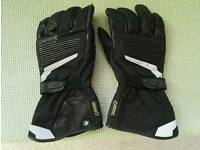 Motorbike Gore Tex gloves summer 9-9.5
