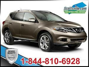 2013 Nissan Murano LE AWD, Heated Leather, Sunroof, Nice!
