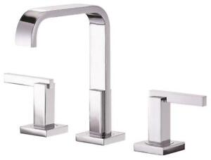 New Danze D304644 Sirius Two Handle Mini-Widespread Lavatory Faucet, Chrome