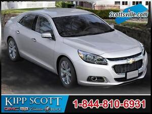 2016 Chevrolet Malibu LTZ, Leather, Sunroof, Premium Audio